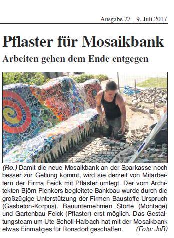 Pflaster Für Mosaikbank